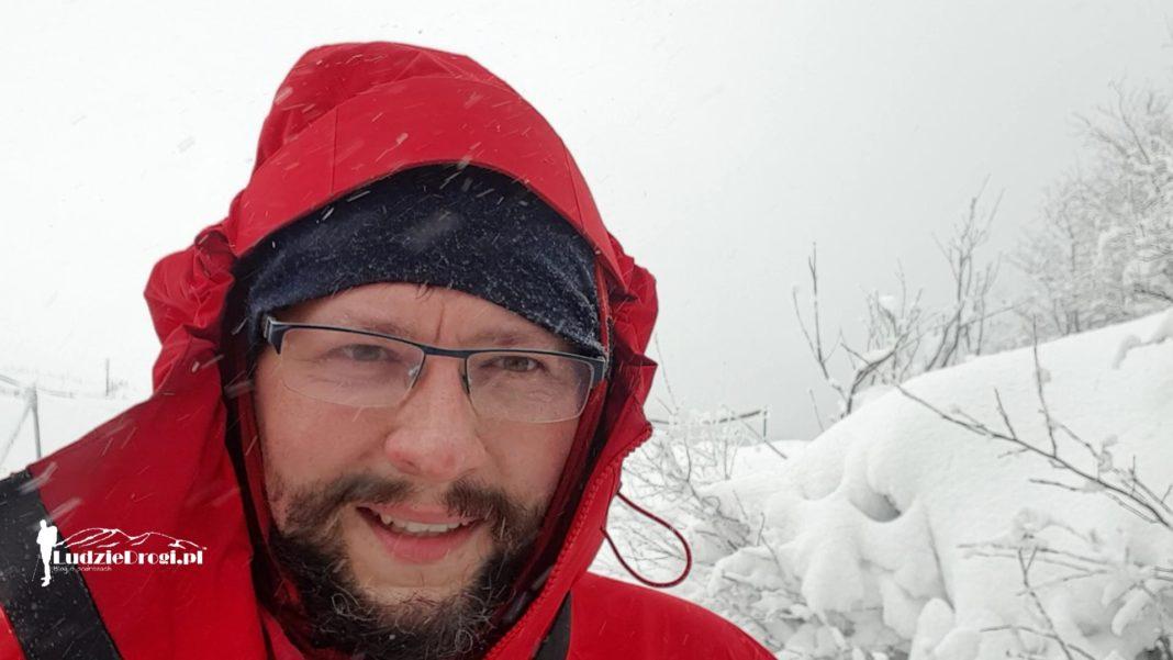Pod Tarnicą - Szlak Karpacki 2021, próba pierwszego zimowego przejścia Tomasz Marek Badur